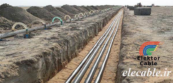 کابل زمینی المینیومی